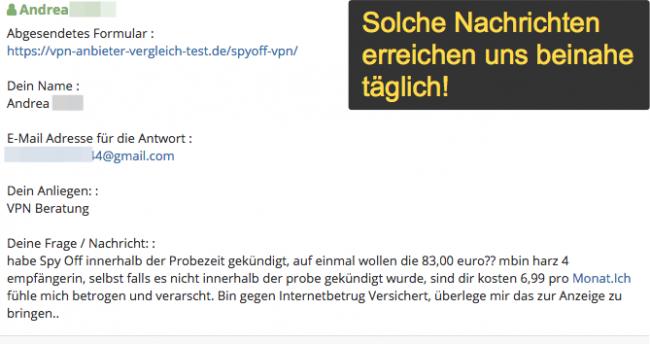 SpyOFF VPN Lesernachrichten