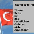 """Statuscode: 451 – """"diese Seite ist aus rechtlichen Gründen nicht erreichbar"""""""