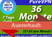PureVPN Exklusivangebot|36 Monate nur $59.95!