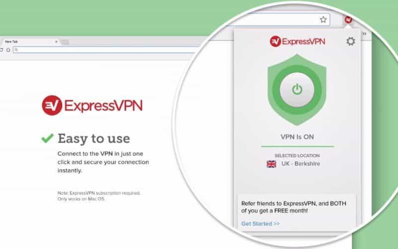 ExpressVPN Browser Erweiterungen