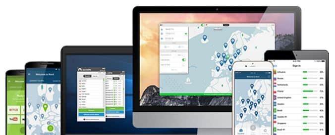 NordVPN Anwendungen für alle Geräte
