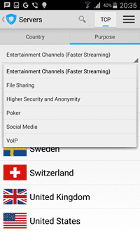 Ivacy für Android 4