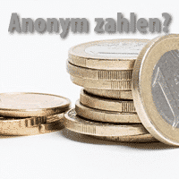 anonym zahlen