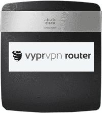 Cisco Linksys E2500 mit VyprVPN Routererweiterung