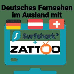Deutsches Fernsehen im Ausland mit Zattoo