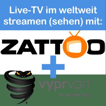 Live TV im Ausland streamen