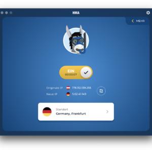 HideMyAss VPN Anwendung