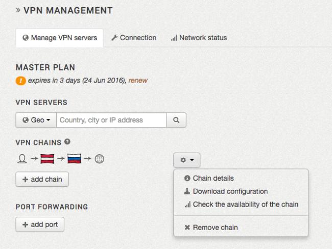 Der ZorroVPN Konfigurator erstellt die individuellen Files zum Import für die OpenVPN Software.