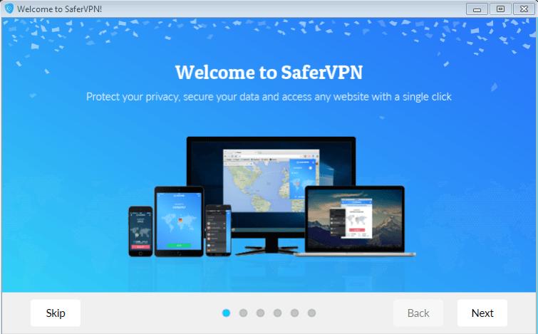 SaferVPN fuer Windows Installation und Anleitung
