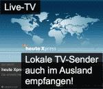 Live-TV auch im Ausland sehen!