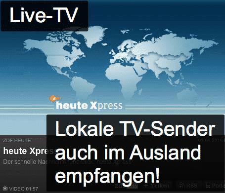 Live TVauchimAuslandsehen!