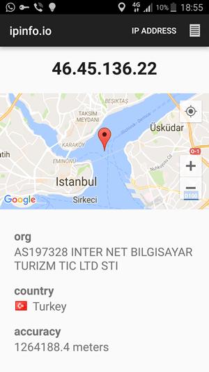 OneVPN Android App 4