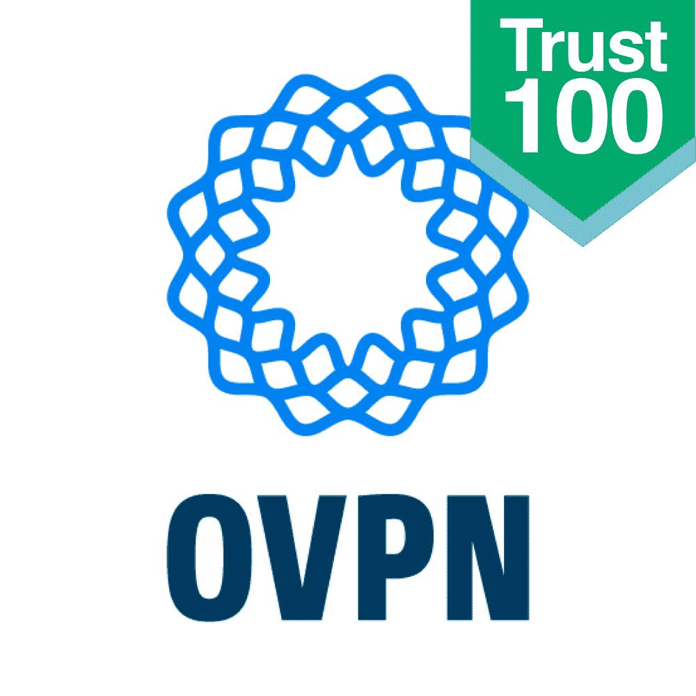 OVPN Logo (Trustlevel 100)