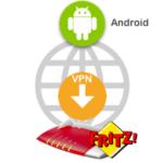 Android VPN mit Fritzbox verbinden