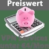 Billige VPN Services im Vergleich