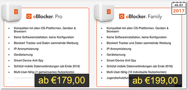 eBlocker Preise (box)