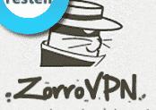 ZorroVPN Test & Erfahrungen Technik für max. Anonymität