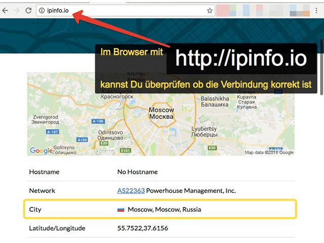 Router Asus VPN Testuj połączenie
