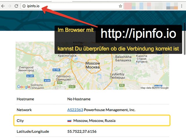 Asus-router VPN Test verbinding