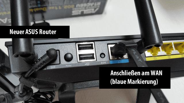 Asus Router mit VPN