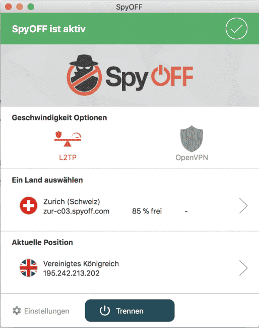 spyoff installation mac