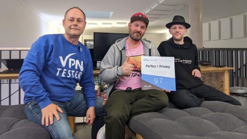 Persönlicher Besuch bei Perfect-Privacy VPN