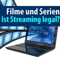 Filme und Serien. Ist Sreaming legal?