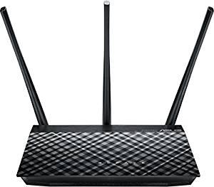 ASUS RT-AC53U, VPN-Client, GigabitLAN, Preis ca. €48, Reichweite bis ca 80m2