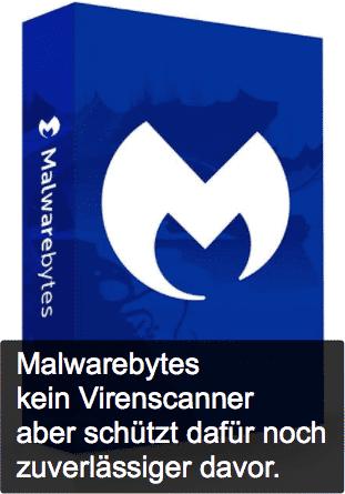 Malwarebytes schützt zuverlässig vor Virenbefall Logo