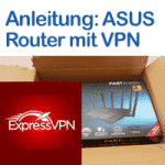 Logo von Anleitung ExpressVPN mit ASUS Router nutzen