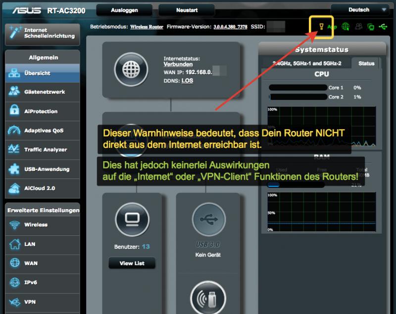 Anleitung: Trust.Zone VPN auf einem ASUS Router einrichten. (Kostenlos testen) 14