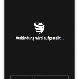 VyprVPN App Verbindungsaufbau