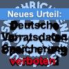 Urteil: Deutsche Vorratdatenspeicherung ist nicht EU-konform!