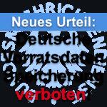 Urteil: Deutsche Vorratsdaten-Speicherung ist nicht EU-konform!
