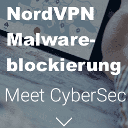 NordVPN CyberSec DNS Malwareblocker