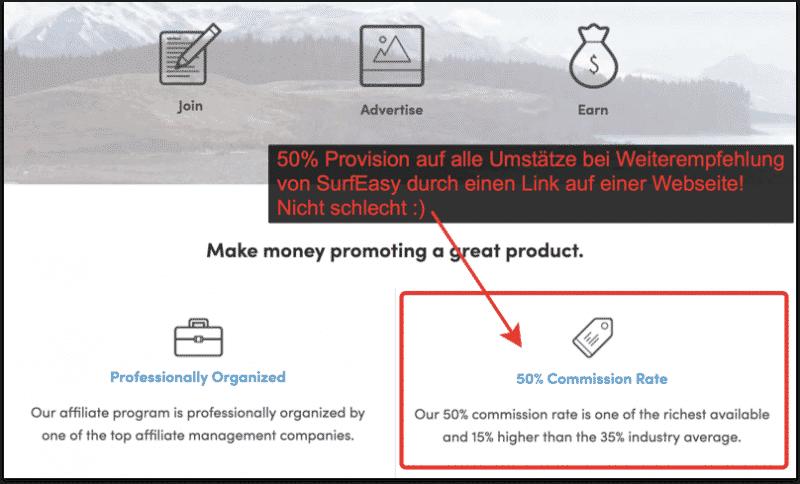 Mit SurfEasy VPN 50% mitverdienen!
