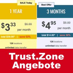 Trust.Zone VPN Angebote