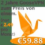 GooseVPN-Angebot
