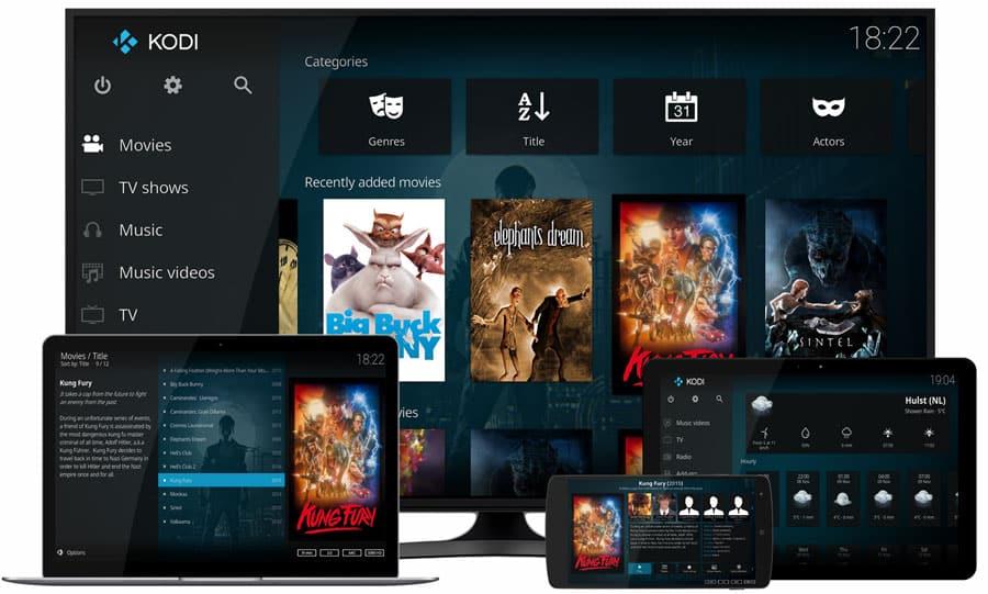 KODI Anwendungen für viele Geräte