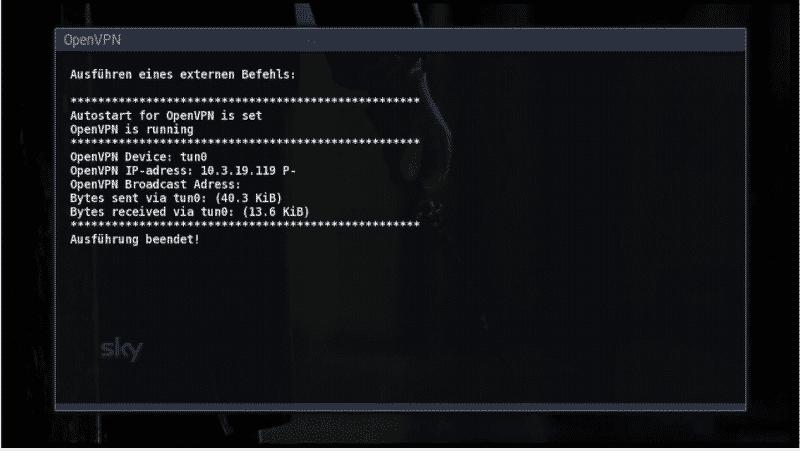 VU+ mit OpenVPN Anleitung