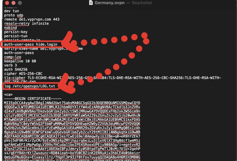 Anleitung: VPN auf VU+ Receiver benutzen - VyprVPN mit OpenVPN 2
