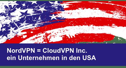 NordVPN = CloudVPN Inc. aus den USA