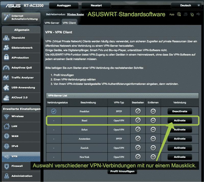 ASUS Router VPN Client