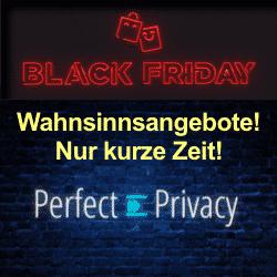 Perfect PrivacyVPNBlackFridayAngebote