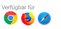 Google Chrome, Firefox, Safari