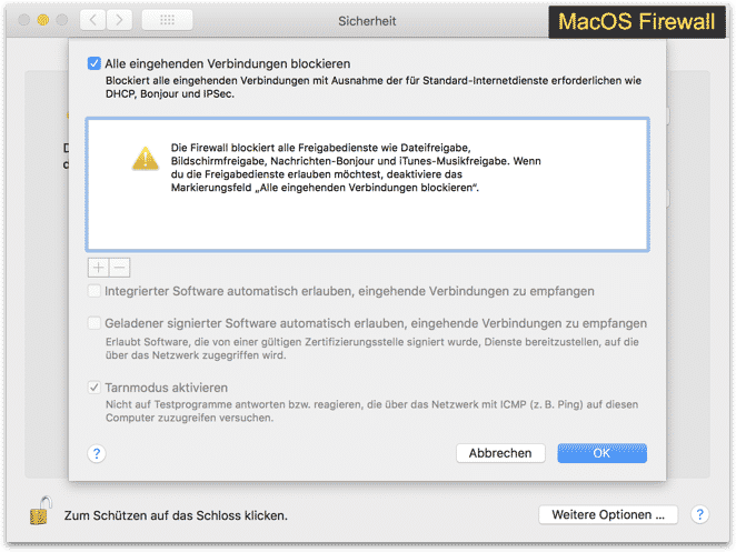 MacOS Firewall