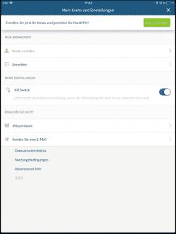 NordVPN Anleitung Deutsch für Apple iOS