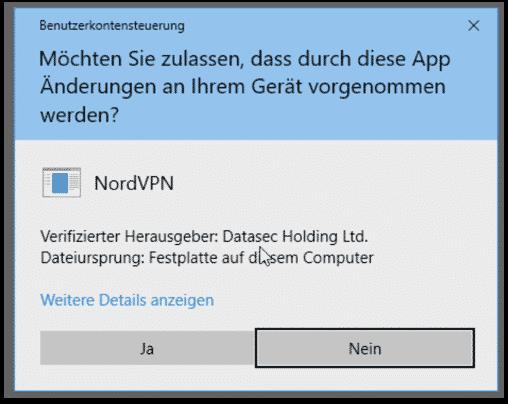nordvpn anleitung deutsch windows