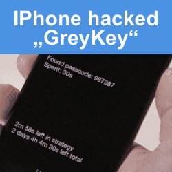 Apple iPhone hack, GreyKey