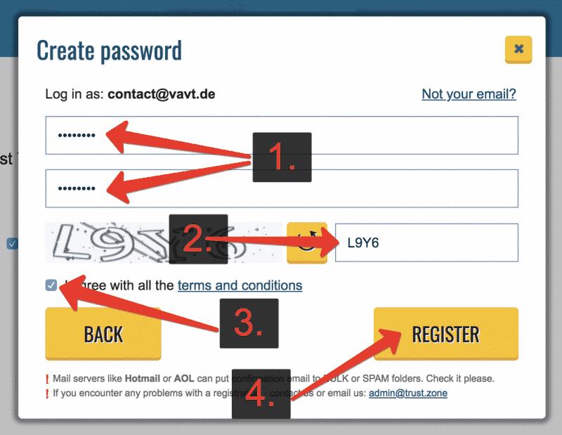 Anleitung Trust.Zone VPN testen Schritt 4